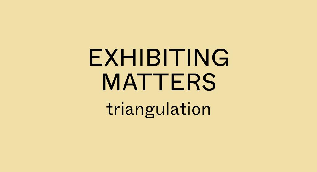 Exhibition Matters triangulation2