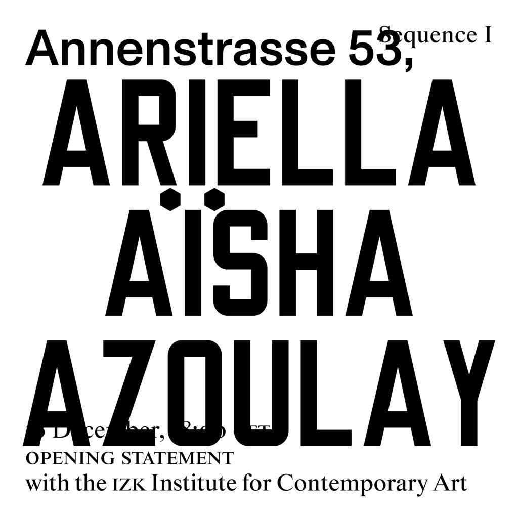 ariella aisha azoulay