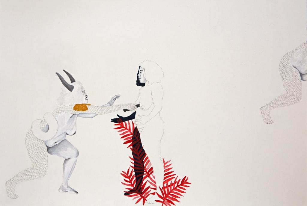 Tessa Mars, The Good Fight, detail from Installation at 10th Berlin Biennale, 2018